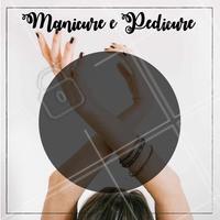 Manicure e pedicure no precinho! Não perca tempo, marque já! #manicure #ahazou #ahazoumanicureepedicure #pedicure