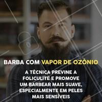 Já conhece essa técnica? Venha experimentar!  #vapordeozonio #ahazou #barbearia #barber