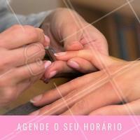 Não esqueça de marcar a sua manicure. Estamos te esperando para te deixar mais linda. #manicure #ahazou #unhas