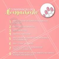 Siga estas dicas essenciais e faça com que os seus alongamentos durem mais!  #alongamentodeunhas #ahazou #unhas #manicure #nailart