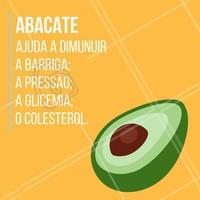 Além de ser uma fruta muito nutritiva, o abacate traz excelentes benefícios no controle da pressão, auxilia na perda de peso e no colesterol.  #bemestar #saúde #ahazou #alimentação  #qualidadedevida