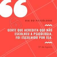 Parabéns Psicólogos ❤️️💡 #diadopsicólogo #ahazou #agosto