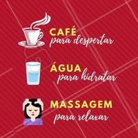 Tire um tempinho para relaxar e cuidar do seu bem estar! Agende o seu horário!  #massoterapia #massagem #ahazoumassagem #massagemrelaxante