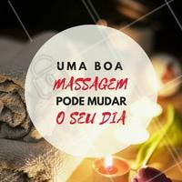 Reserve um momento do seu dia para se cuidar! Você merece!  #massoterapia #ahazoumassagem #motivacional #bemestar