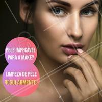 Uma pele bem cuidada faz uma diferença enorme na sua maquiagem! Agende uma limpeza de pele e fique radiante!  #limpezadepele #estéticafacial #ahazou #peleperfeita #cuidadoscomapele #beauty