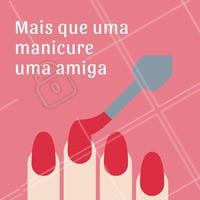 Obrigada queridas clientes pela confiança! #manicure #ahazou #amigas