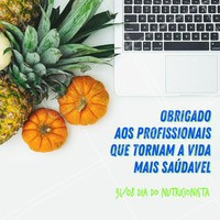 Hoje é o dia desses profissionais incríveis, parabéns pelo seu dia. 31 de agosto Dia do Nutricionista. #nutricao #ahazousaude #bemestar #diadonutricionista #alimentacao #ahazou #nutricionista #31deagosto