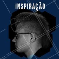 Inspiração, Pompadour + Fade. #inspiração #barbearia #cabelo #masculino #ahazoubarbearia #barber #hair
