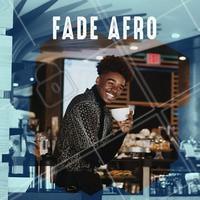 Inspiração de Cabelo, Fade Afro. #cabelo #barbearia #ahazoubarbearia #ahazou #barba #barber #afro
