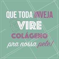 Amém! 😉 #esteticafacial #ahazou #meme #colageno #inveja
