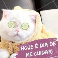 Aproveite e venha cuidar de você hoje mesmo! ❤️ #amorproprio #ahazou #motivacional #meme #beleza #spa #estetica