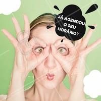 Já agendou o seu horário? #agendeseuhorário #ahazou #convite