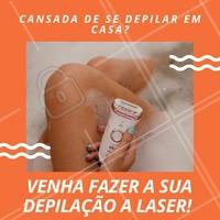 Que tal nunca mais se preocupar com a depilação? Agende a sua avaliação agora mesmo! #depilacaolaser #ahazou #laser #depilacao #fimdopelos #mulher