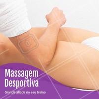 A massagem desportiva, diferente da relaxante, é feita com o propósito de preparar e recuperar a musculatura para quem pratica exercícios físicos! #massagemdesportiva #ahazou #desportiva #massoterapia #massagem
