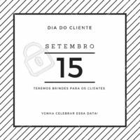 Nesse dia tão especial, aproveite para cuidar da pessoa mais especial para nós: você! #diadocliente #semanadocliente #ahazou #promocao