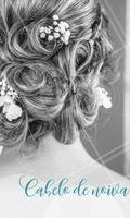 Uma inspiração para você que é noiva! O coque com delicadas flores combina com as noivas tradicionais, pode ser usado durante o dia ou à noite. #penteado #ahazou #noivas #inspiracao #tendencia