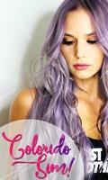 Ter os fios coloridos requer cuidados diários! A cor lilás é fácil de desbotar, por isso aposte em xampus para cabelos coloridos e faça muita hidratação para manter a cor sempre vibrante. #coloridos #cabelos #ahazou #coloracao #tendencia #cabelolilas #mulheres