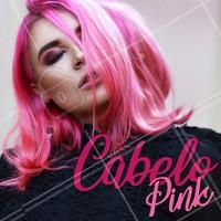 Ter os fios coloridos requer cuidados diários! A cor pink é fácil de desbotar, por isso aposte em xampus para cabelos coloridos e faça muita hidratação para manter a cor sempre vibrante. #coloridos #cabelos #ahazou #coloracao #tendencia #cabelopink #mulheres