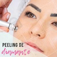Este tratamento ameniza as rugas, linhas finas e ameniza os poros dilatados. Entre em contato e venha fazer uma avaliação!  #peeling #peelingdediamante #ahazouestetica #esteticafacial #peleperfeita