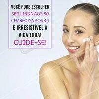 Mantenha a pele sempre bem cuidada e fique linda a vida toda!  #peleperfeita #cuidadoscomapele #ahazouestetica #esteticafacial