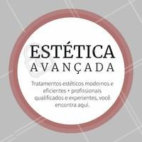 Garantia de resultados verdadeiros e profissionais excelentes! Agende seu horário e venha conhecer. #esteticaavançada #estetica #ahazou #tratamentoestetico