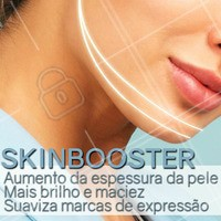 O Skinbooster é aplicado na pele com injeções de ácido hialurônico, a substância responsável por promover todos esses benefícios! Venha conhecer, agende uma avaliação. #skinbooster #ahazou #estetica #esteticafacial