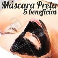 1. Ação anti-acne e anti-cravos 2.Reduz a oleosidade 3. Clareia as manchas 4. Possui ação cicatrizante e anti-inflamatória 5. Ação antioxidante #mascarafacial #ahazou #mascarapreta #estetica #esteticafacial