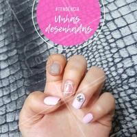 Cada uma com um estilo. A moda está deixando as unhas cada vez mais divertidas. Você gosta? #manicure #ahazou #unhas #moda #nailart