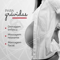 Com a gestação, as mulheres gestantes experimentam uma série de incômodos – dor nas costas, inchaço, ansiedade e tensão são alguns deles. Alivie esses sintomas com as opções de tratamentos que temos! #gravidez #ahazou #gestacao #gestante #massagemrelaxante #massagemfacial #drenagemlinfatica