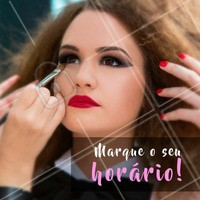 Vai ter festa? Agende a sua maquiagem para a ficar mais linda. #maquiagem #ahazou #agendamento #make #festa