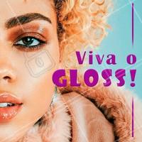 Ele voltou. E voltou poderoso. Use também na sombra para deixar a maquiagem mais moderna! #maquiagem #ahazou #gloss #make #bonita #tendencia