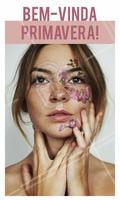 Aquela maquiagem que é pura inspiração. Uma pele perfeita e flores para alegrar o seu dia. 😍🌷 #primavera #maquiagem #ahazou #inspiracao #make #bonita