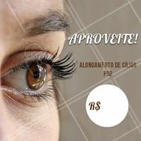 Aproveite a promoção colocar os seus cílios! Marque o seu horário agora mesmo! #cilios #ahazou #cuidados #promocao #bonita