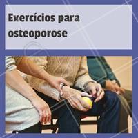 Use a atividade física como sua aliada para fortalecer os ossos! Isso favorece a entrada do cálcio nos ossos. A musculação é o exercício mias indicado! Além disso, a dica é aliar a fisioterapia para osteoporose com exercícios fisicos, fortalecendo os ossos e o corpo como um todo. #osteoporose #ahazou #fisioterapia #ossos #exercicios