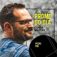 Aproveite a promoção para vir cortar o cabelo. #barbearia #ahazou #promocao #corte #homens