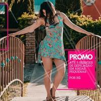 Aproveite a promoção para marcar a sua avaliação. #depilacao #ahazou #pernas #promocao