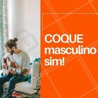 O estilo veio para ficar e combina com os homens modernos e jovens! Mas atenção o cabelo precisa de cuidados. Use bons xampus e condicionador diariamente. #barbearia #ahazou #cabelo #homens #coque #moda