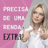 Você já pensou em ser revendedora de beleza? Que tal incremedar a sua renda mensal vendendo cósmeticos? Comente aqui se você quer saber mais! #revendedora #ahazou #cosmesticos #rendaextra #mulher #empoderamento