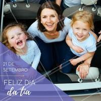 Parabéns pelo seu dia! Comemore brincando muito com seus sobrinhos. #diadatia #ahazou #celebracao #sobrinho #sobrinha #parabens