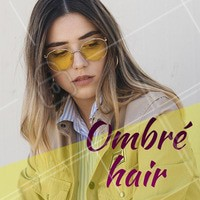 O queridinho do momento é o ombré hair: esfumado que ilumina as pontas! Aposte. #ombre #ahazou #cabelo #ombrehair