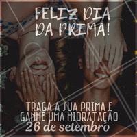 Venha ficar mais bonita e comemorar o dia dos primos conosco. #diadosprimos #ahazou #promocao #desconto