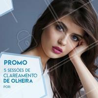 Aproveite a promoção e diga adeus  as olheiras! #esteticafacial #olheiras #ahazou #cuidados #promocao #bonita