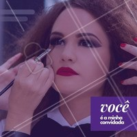 Farei uma reunião para ensinar como se maquiar. Venha participar e chame suas amigas. #revendedoras #ahazou #maquiagem #aula #reuniao