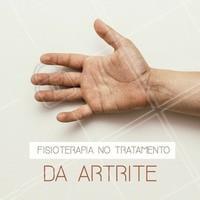 Você sabia que a Fisioterapia é capaz de diminuir a dor, prevenir e diminuir as deformidades da articulação, além de garantir a capacidade de realizar atividades cotidianas de forma independente? #fisioterapia #ahazou #artrite