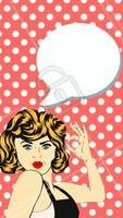 Use nosso editor para escrever o que você quiser no balão de fala!