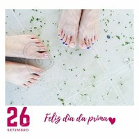 Traga a sua prima para fazer a unha com você e ganhe uma francesinha! #diadosprimos #ahazou #francesinha #promocao #desconto #manicure