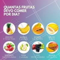 Comer fruta faz bem, mas em excesso pode ser um tiro no pé na sua dieta! #saude #ahazou #dieta #alimentacao #vida #frutas