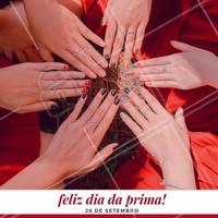 Traga a sua prima para fazer a unha com você e leve ganha uma francesinha! #diadosprimos #ahazou #francesinha #promocao #desconto #manicure