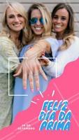 Traga a sua prima para fazer a unha com você e você ganha uma francesinha! #diadosprimos #ahazou #francesinha #promocao #desconto #manicure