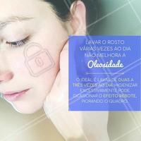 Fica a dica para você que tem a pele oleosa!  #peleoleosa #cuidadoscomapele #ahazouestetica #esteticafacial
